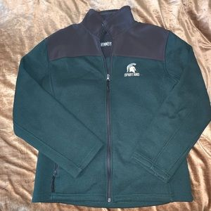 Men's Michigan State fleece jacket